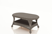 Forever Patio Catalina Wicker Coffee Table Heather