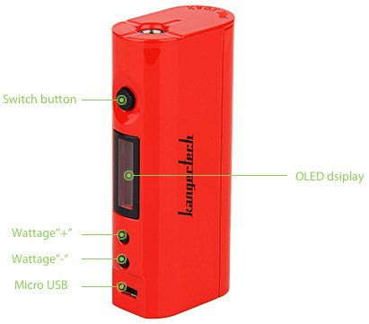 Kanger Kbox 75 Watt TC