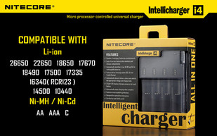 NiteCore Intelli Charger I4