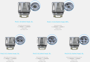 Joyetech ProCore (Aries) Replacement Coils