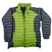 Himalayan Warm Full Sleeves Silicon Fibre Synthetic Puffy Jacket Chartreuse Green