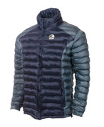 Himalayan Warm Full Sleeves Silicon Fibre Synthetic Puffy Jacket Navy Blue