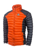 Himalayan Warm Full Sleeves Silicon Fibre Synthetic Puffy Jacket Orange