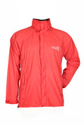 Ultralight Windproof Jacket for High Mountain Trekking Passes and Cycling (Red)