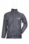 Ultralight Windproof Jacket for High Mountain Trekking Passes and Cycling (Grey)