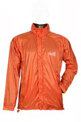 Ultralight Windproof Jacket for High Mountain Trekking Passes and Cycling (Orange)