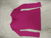 Segments Full Sleeve Merino Wool Tshirt Women Size Small Pink