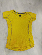 Icebreaker Merino GT Women Tshirt Small Yellow