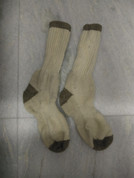 Trekking and Mountaineering Socks Long Light Brown