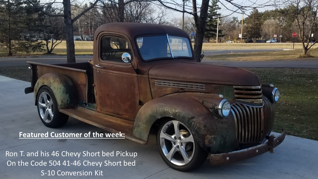 Code 504 Is A Manufacturer Of Usa Made Bolt On S 10 Chassis Electrical Wiring Diagram For 1942 47 Chevrolet Truck 1