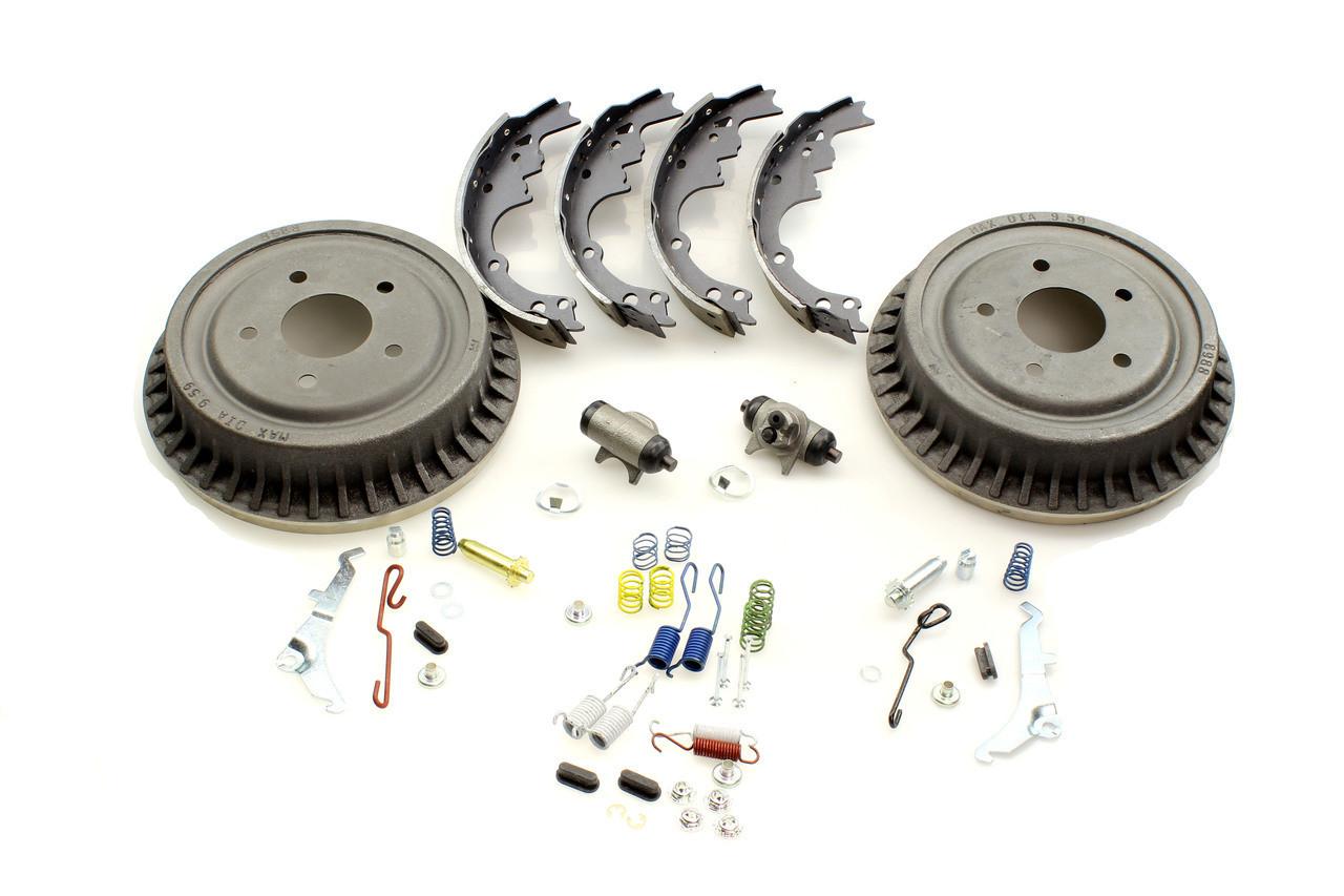 1992-2003 S10/S15 Deluxe Rear Drum Rebuild Kit - Code 504, LLC