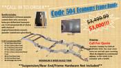 Code 504 Economy Frame Bundle