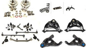 """Complete Front Suspension and Brake Kit (4"""" Drop)"""