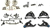 "Complete Front Suspension and Brake Kit (4"" Drop)"