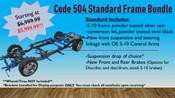 Code 504 Standard Frame Bundle