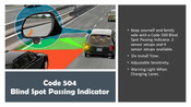 Code 504 Blind Spot Detection Monitor