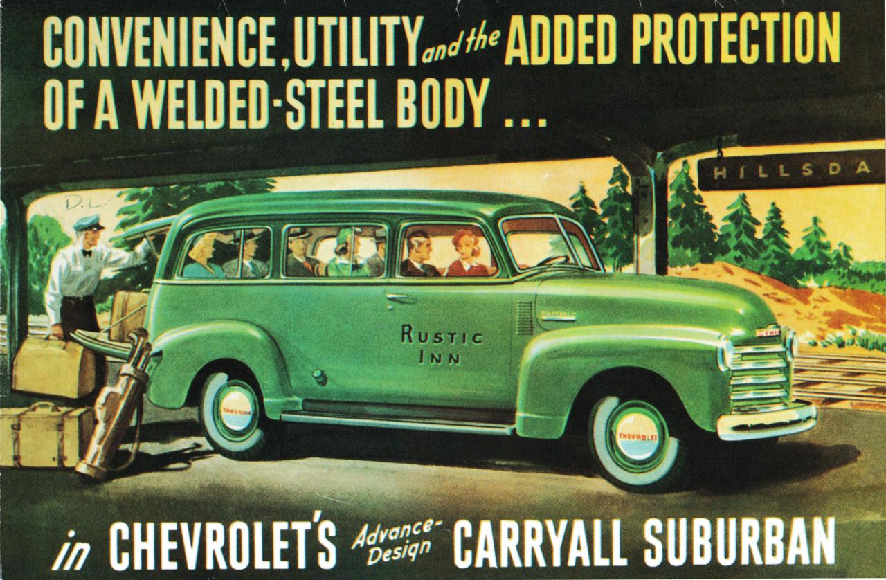 1947-1955 1 Chevy Suburban & Panel Truck Bolt-On S-10 Frame