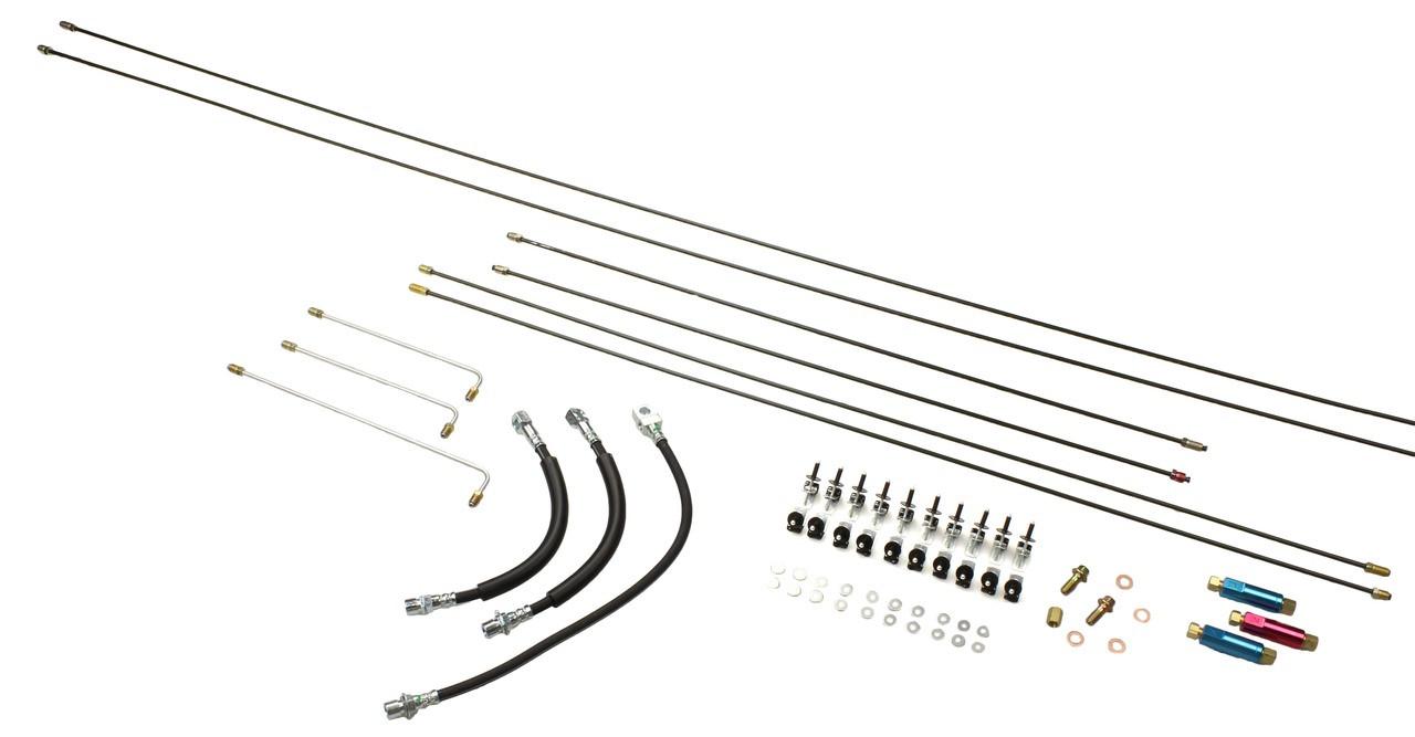 brake line kit for frame mount brake pedal s