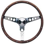 Classic Wood Steering Wheel Kit