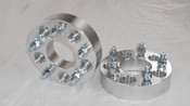 Billet Front Wheel Spacers 1 1/2 Wide