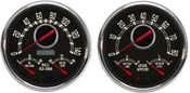 3 N 1 QUAD GAUGE SET BLACK / RED