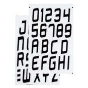 Sea-Doo New OEM PWC State Registration Watercraft Letters/Numbers Kit 295100570