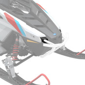 Polaris New OEM Pro-Ride Ultimate Front Bumper White Indy Voyageur RMK