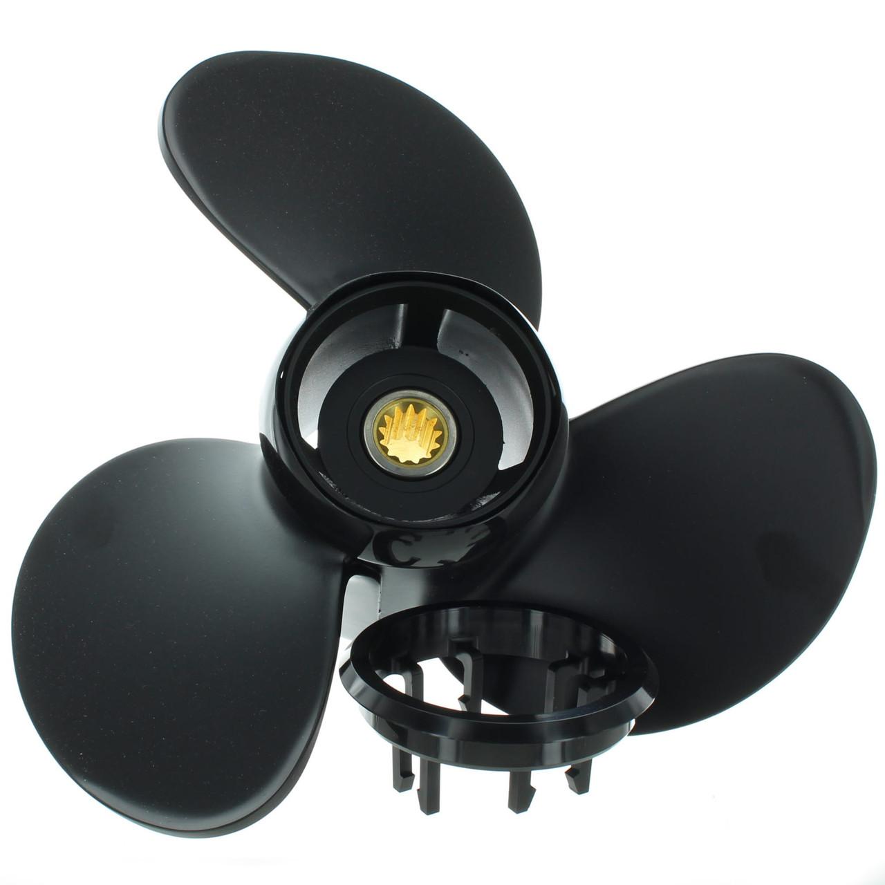 Evinrude Johnson New OEM Hydrus Propeller Pontoon Prop 13 875x13 177203  13-7/8