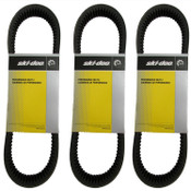 Ski-Doo MXZ,TNT Drive Clutch Belt 417300367 THREE PACK
