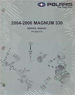 Polaris New OEM Service Manual '06 Magnum 330, 9920172