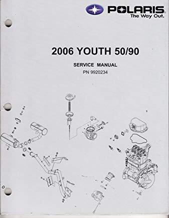 Polaris New OEM Service Manual '06 Pred 50/90, 9920234