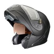 Polaris New OEM Matte Black 1.5 Eclipse Modular Helmet, Large, 286855206