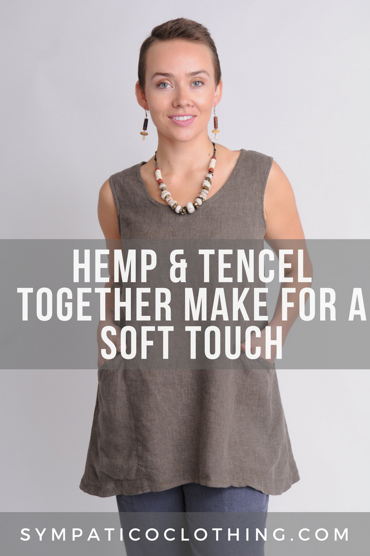 natural and comfy hemp and Tencel