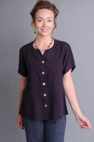 Plum hemp – Tencel clothing