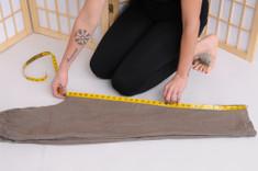 Measure a similar pair of pants.