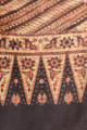 Detail, vintage batik scarf