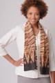 Vintage batik scarf