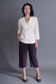 Plum  Women's hemp - Tencel Pants
