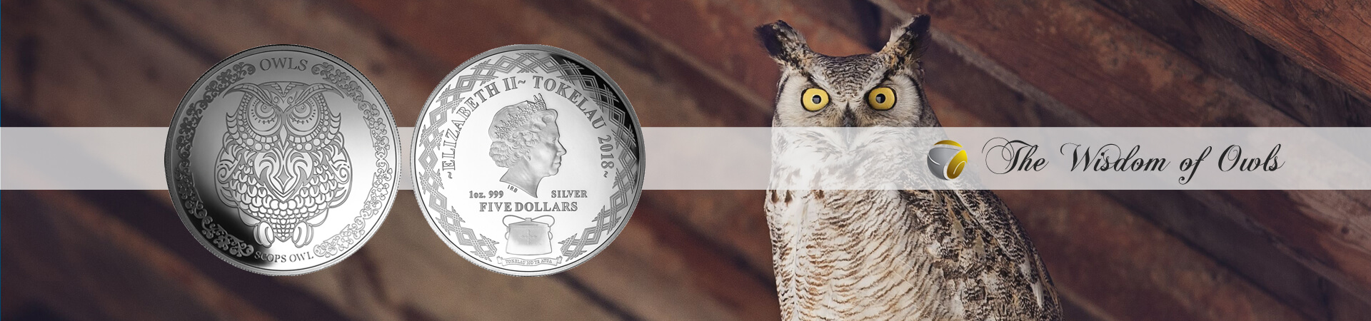 Wisdom of Owls coins