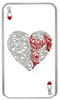 Ace of Hearts, 1oz pure silver Tokelau Coin 2015