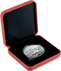 1oz Silver Reverse Proof Year of the Dog Tokelau coin in box