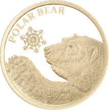 Polar Bear 0.5g Gold Tokelau Coin