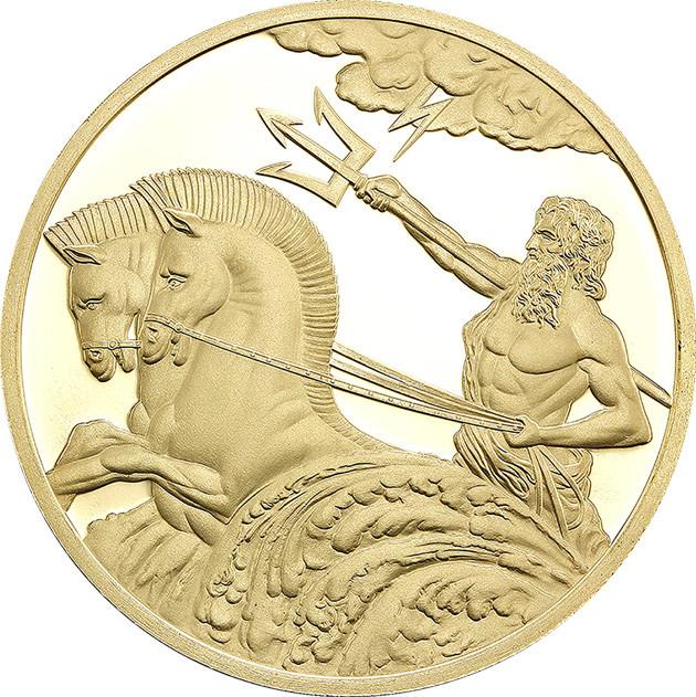 Poseidon 0 5g Gold Tokelau Coin