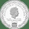 Baby Pram Tokelau 1oz Silver Coin 2018 Obverse