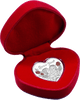 Forever Yours Tokelau 20g Silver Heart Shaped Coin Presentation Case