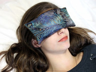 Dark Turquoise Eye Pillow