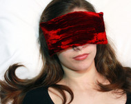 Ruby Red Eye Pillow