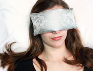 Pewter Paisley Eye Pillow