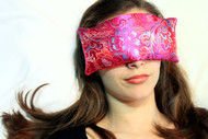 Fuchsia Garden Eye Pillow