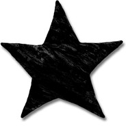 "13"" & 17"" Crushed Velvet Star Shaped Throw Decor Pillows"